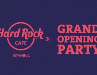 Hard Rock Cafe İstanbul'u Salladı