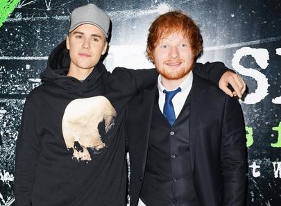 Ed Sheeran ve Justin Bieber bir arada!