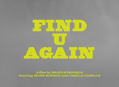 Mark Ronson ve Camila Cabello'dan 'Find U Again'