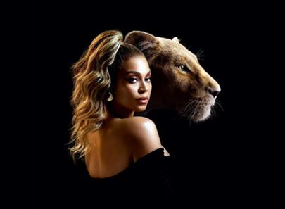 Beyonce'den 'Aslan Kral' için 'Spirit'