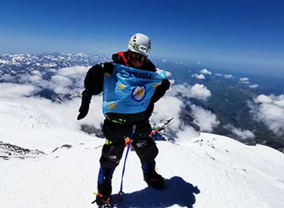 Müzisyen Evren Uysal TEGV'li çocuklar için Kilimanjaro Dağı'na tırmanacak!