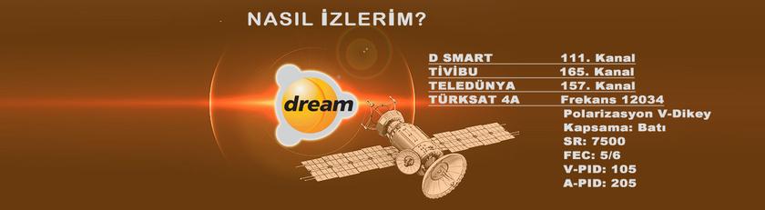 Dream TV Frekans Bilgileri
